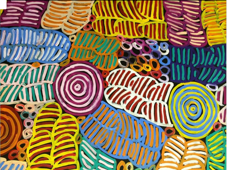 BETTY MBITJANA aboriginal-art